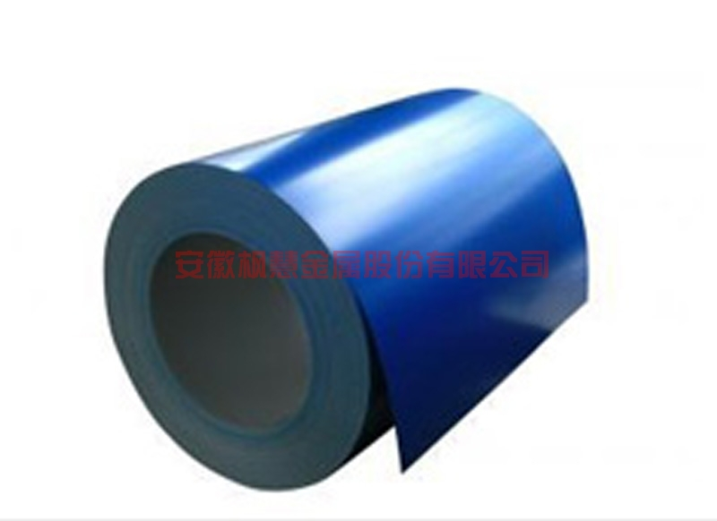 Roller coated plate